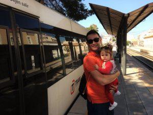 tram altea 300x225 - Viajando en el Trenet de La Marina