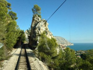 tram calpe 300x225 - El Trenet de La Marina. ¿Te subes al tram de Alicante?
