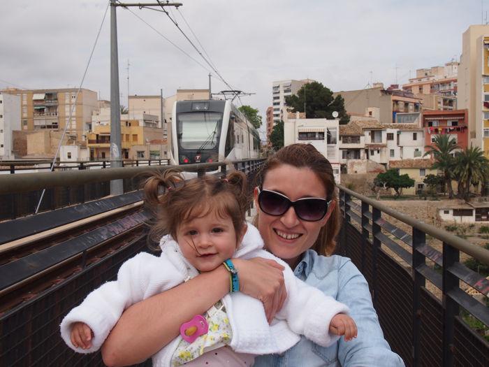 Viajando en el Trenet de La Marina