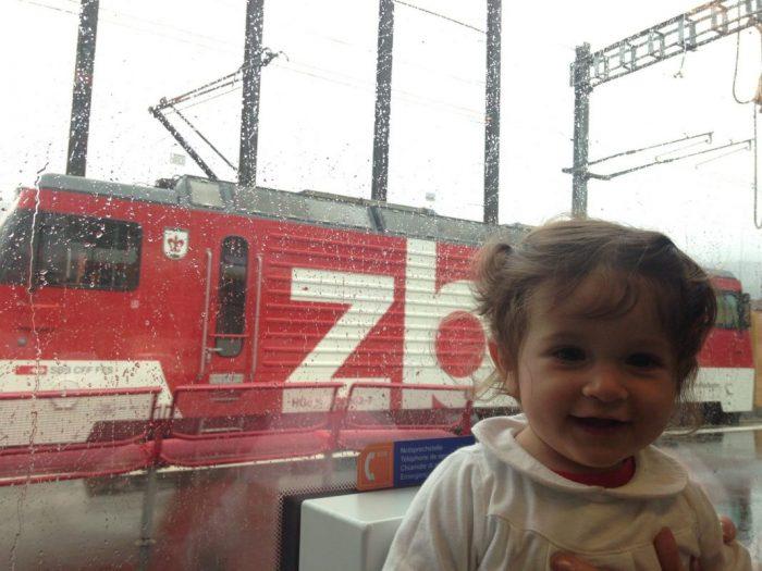 Interrail Suiza con bebé: recorriendo el país en tren