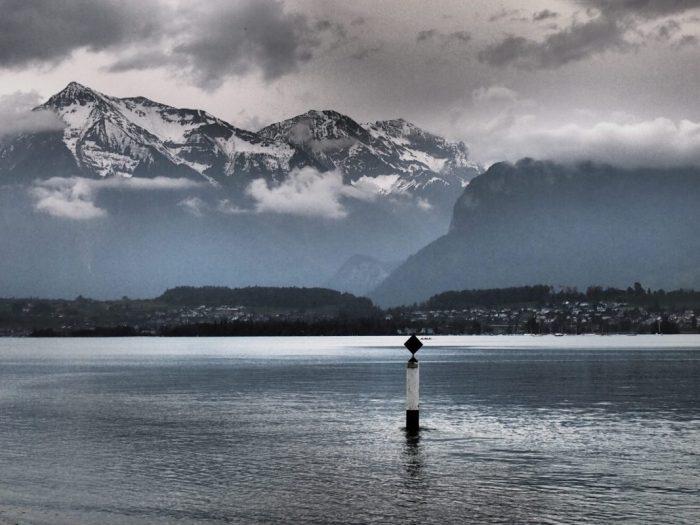 Navegar por el lago Thun gratis con tu pase de Interrail