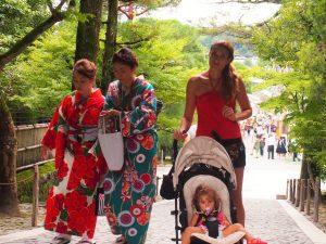 p9132979 1 300x225 - Kioto con bebé, esta ciudad nos enamoró