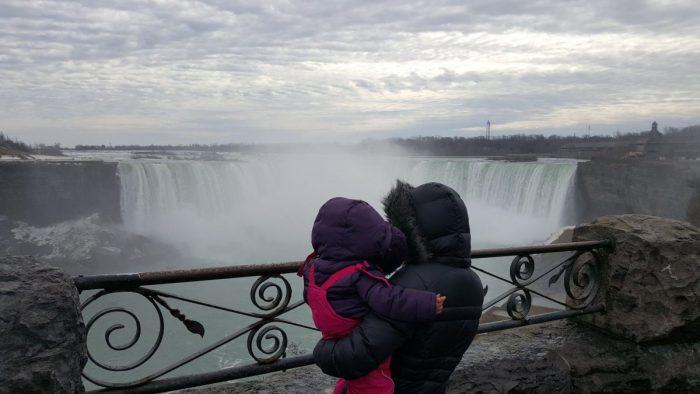 De Toronto a las Cataratas del Niágara: Niagara Falls con bebé