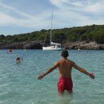 cala turqueta 3 150x150 - Paradísiacas playas de Menorca para ir en familia