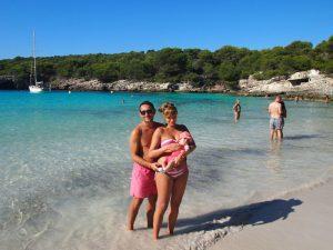 macarella 3 300x225 - Menorca con bebés
