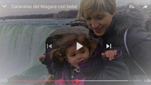 video cataratas niagara 300x169 - De Toronto a las Cataratas del Niágara: Niagara Falls con bebé
