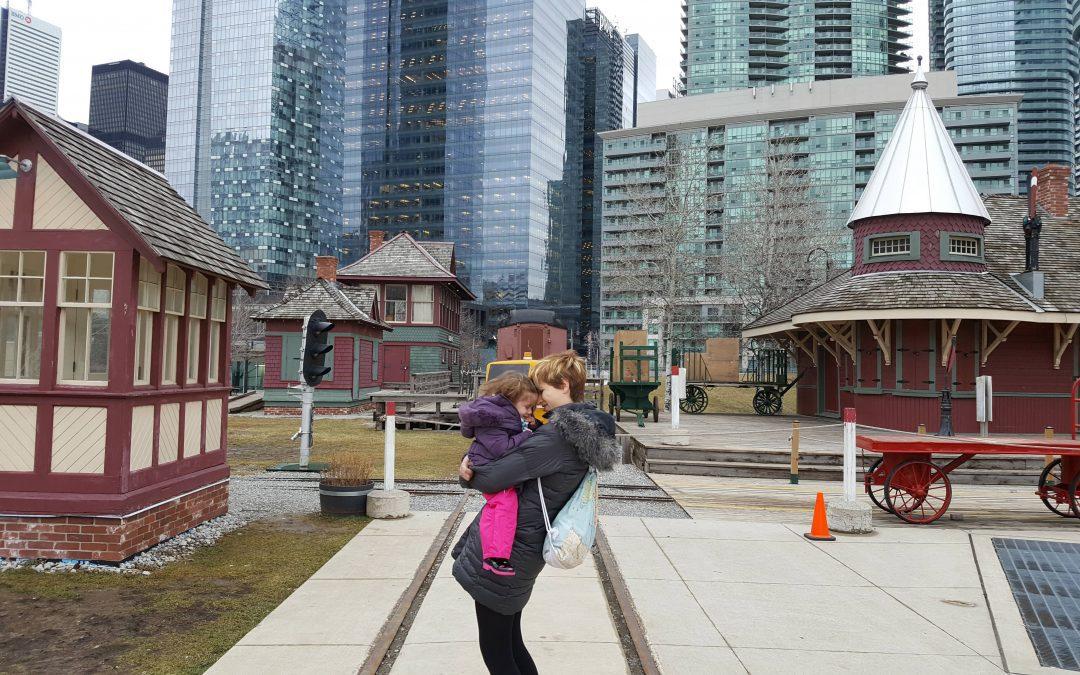 Toronto con bebé