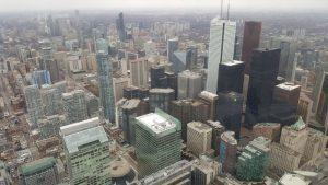 cnntower vistas 3 300x169 - Visitando Toronto con bebé, nuestro paso por Canadá