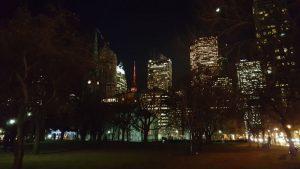 toronto noche 2 300x169 - Visitando Toronto con bebé, nuestro paso por Canadá