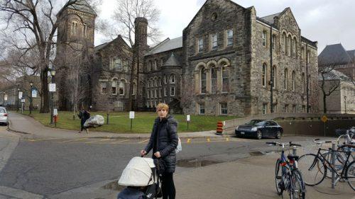 toronto universidad e1582476198348 - Visitando Toronto con bebé, nuestro paso por Canadá