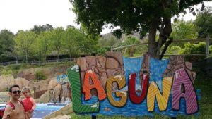 laguna aqualandia 300x169 - Aqualandia con bebé o niños pequeños