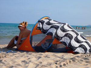 playa bebe 300x225 - Viajar a Mallorca con bebés