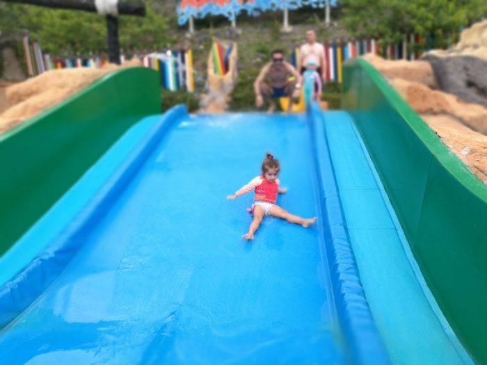 Aqualandia con bebé o niños pequeños