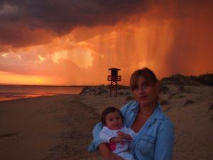 atardecer isla canela 4 300x225 - Road trip por Andalucía con bebé en una semana