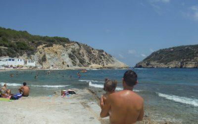 El Cabo de la Nao y sus playas con bebé