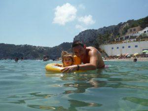 cala barraca 4 300x225 - El Cabo de la Nao y sus playas con bebé