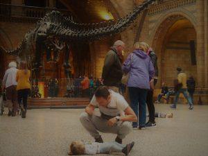 londres museo historia natural 5 300x225 - Londres con bebé: Nuestro itinerario de 4 días