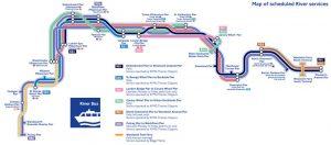 mapa river bus londres completo 300x132 - ¿Qué hacer gratis o casi gratis en Londres con bebé?