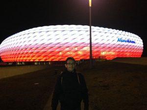 munich arena 300x225 - Múnich con bebé. ¿Qué ver en 2 días en la capital Baviera?