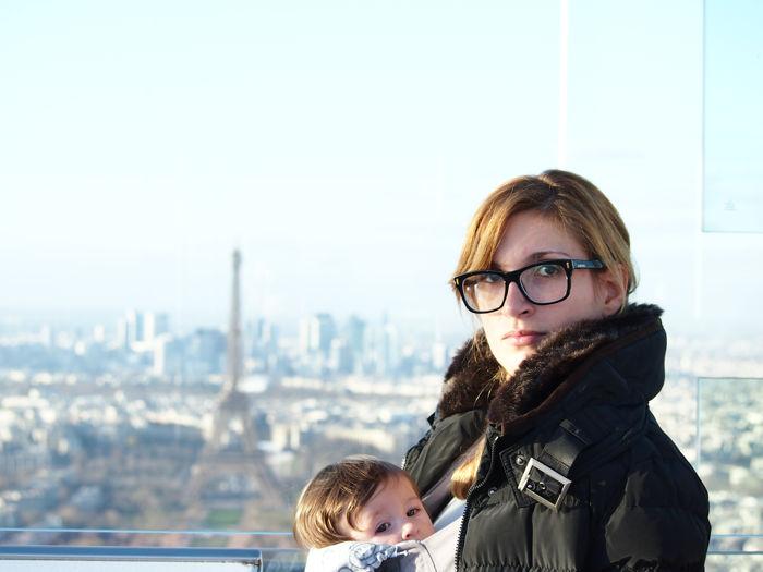 París con bebé, la ciudad del amor con pañales