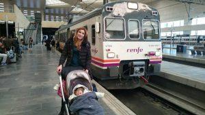 zaragoza tren 2 300x169 - Zaragoza con bebé