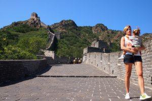 Jioshan muralla china25 300x200 - Hasta el final de la Muralla China con nuestra bebé
