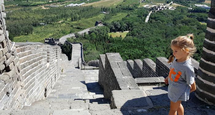 final de la muralla china