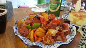comida pingyao1 300x169 - Un día en Pingyao con bebé