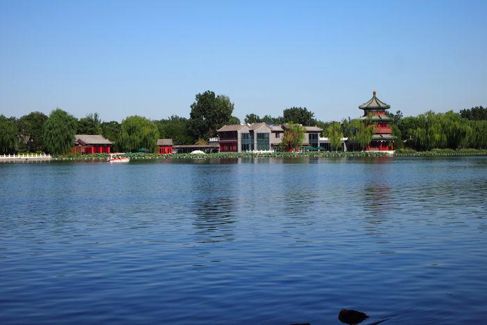 lago houhai pekin - Pekín en 4 días con bebé