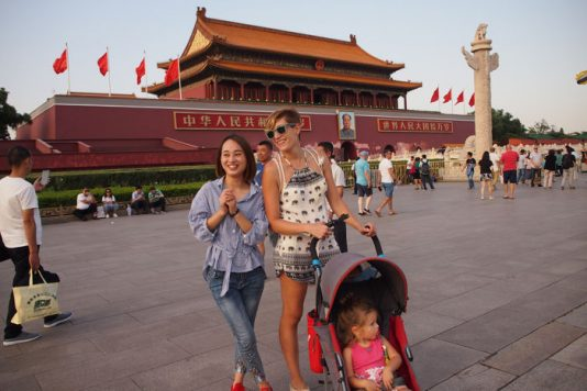 tiananmen pekin 534x356 - Pekín en 4 días con bebé