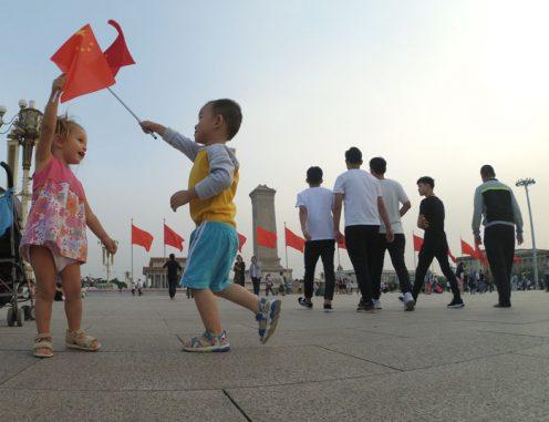 tiananmen pekin14 496x381 - Pekín en 4 días con bebé