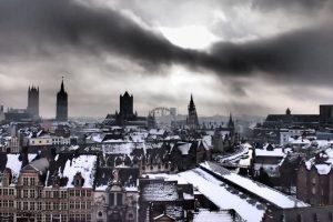 gante castillo vistas1 300x200 - Gante con niños en Navidad, viaje a Flandes en familia