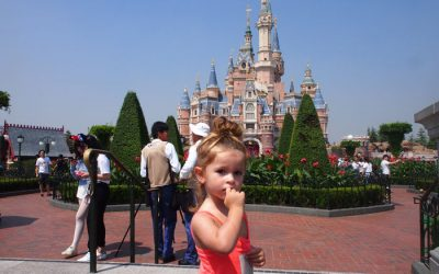 Un día en Disneyland Shanghái con bebé