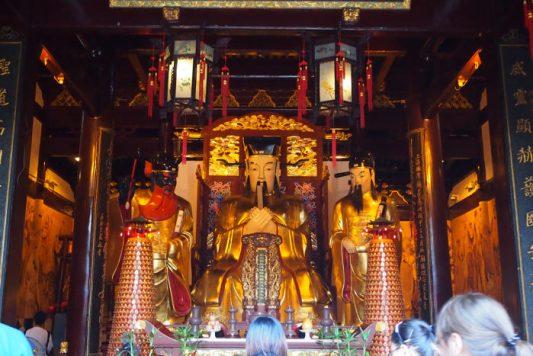 templo de los dioses de la ciudad