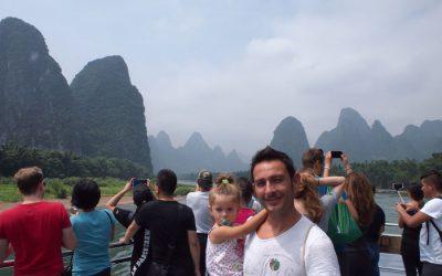 Descubriendo Guilin y el río Li con bebé