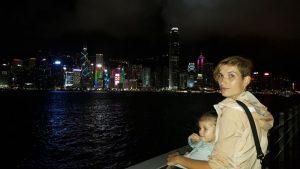 hongkong noche 300x169 - Hong Kong con niños y sus 10 imprescindibles
