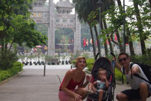 viajar a Asia con bebés
