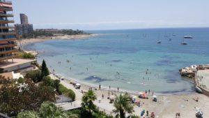 almadraba alicante 19 300x169 - Una playa para ir con bebés en Alicante: la Almadraba