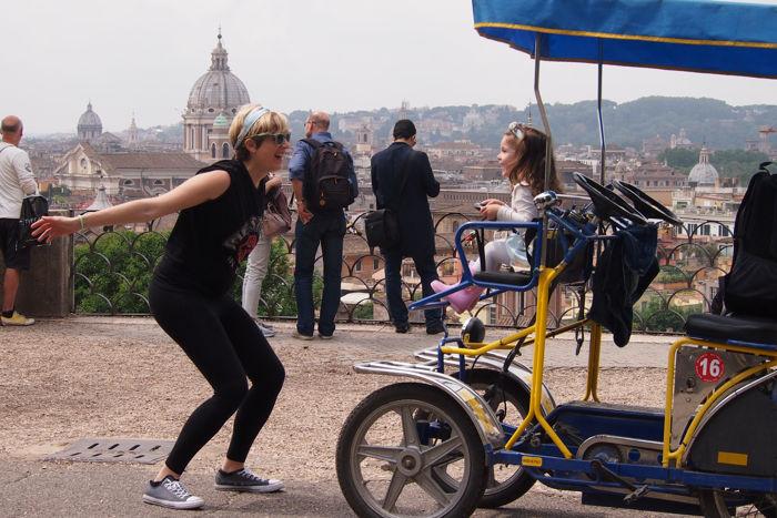 ¿Visitar Roma con bebés o niños? ¿Y embarazada?