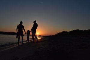 tarde de verano en Menorca con niños