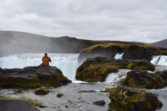 godafoss norte de islandia accesible