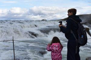 gullfoss 3 300x200 - Sur de Islandia accesible para embarazadas, niños o bebés