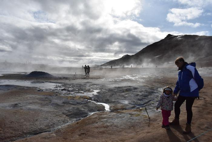 Norte de islandia accesible para ir con niños, bebés o embarazada