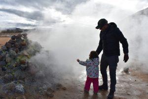 hverir 7 300x200 - Norte de islandia accesible para ir con niños, bebés o embarazada