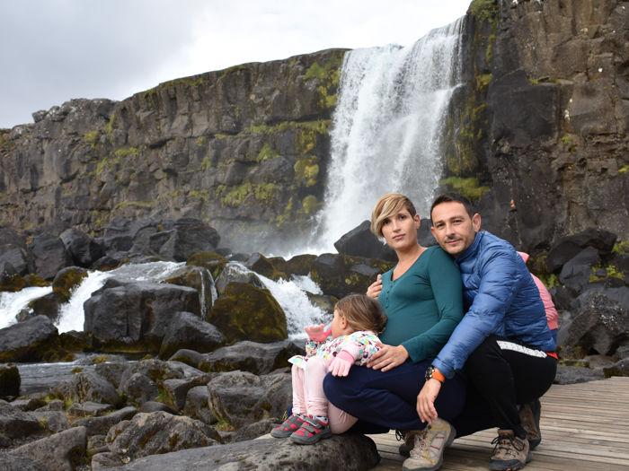 Sur de Islandia accesible para embarazadas, niños o bebés