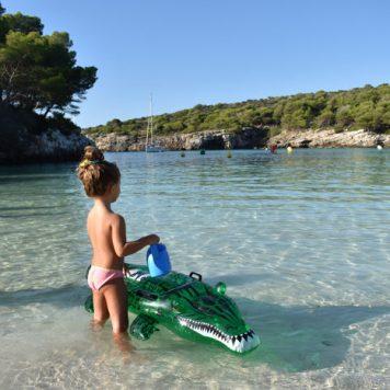 paradisíacas playas de Menorca