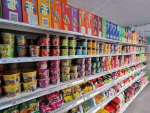 supermercado chino1 300x225 - ¿Cómo comer como un auténtico chino en Alicante?