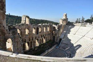 Odeón de Herodes Ático 300x200 - 12 imprescindibles en Atenas con niños