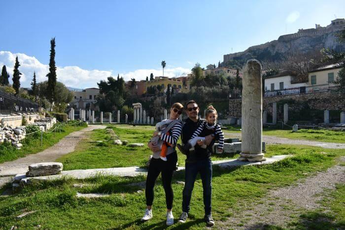 Atenas con bebés