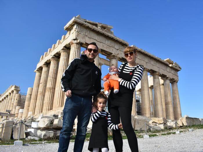 12 imprescindibles en Atenas con niños